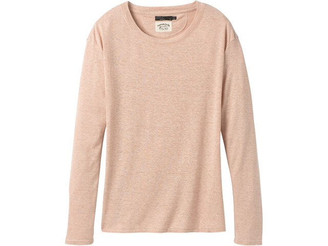 Prana Cozy Up Langarm T-Shirt Damen champagne heather